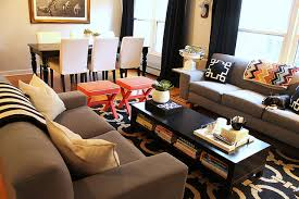 Small Dining Room Decorating Ideas How To Decorate A Living Room And Dining Combination Unlikely Fav