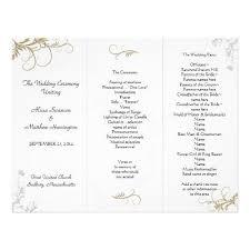 wedding programs exles the 25 best wedding program exles ideas on wedding