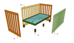 Free Wooden Cradle Plans by How To Build A Crib Howtospecialist How To Build Step By Step