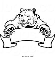 polar bear clipart easy pencil and in color polar bear clipart easy