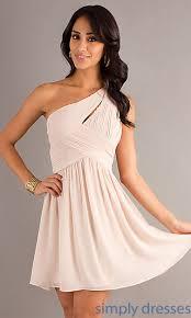 semi formal dress one shoulder junior prom dresses