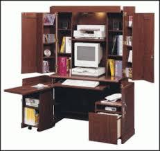 Sauder Armoire Computer Desk Sauder 409934 Shoal Creek Wardrobe Sauder