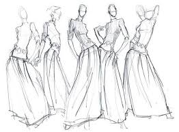 voi design fashion illustrations pencil sketches tìm với