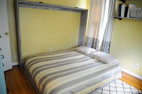 Do It Yourself Murphy Bed Ana White Rustic Queen Sized Wall Bed Diy Projects