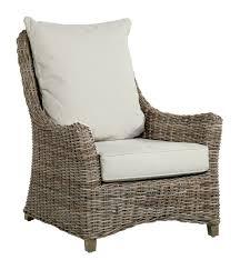 meuble en rotin pour veranda meubles en rotin kooboo gris kok maison