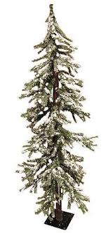 primitive christmas tree 7 ft frosted alpine tree country primitive christmas tree