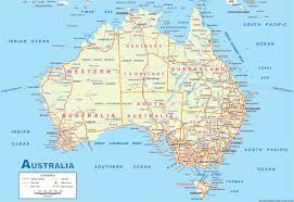 maps of map map of australia