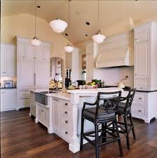 portland hickory kitchen cabinets craftsman with pendant light