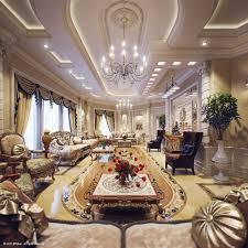 home living room interior design luxury villa in qatar visualized