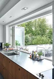 large kitchen window treatment ideas large window ideas home decorating trends large kitchen window