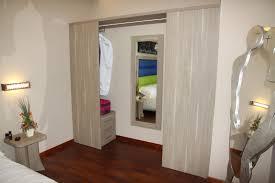 hotel wardrobe contemporary wooden sliding door hotel room