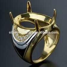 man rings design images Latest model wholesale new dubai gold ring design for men view jpg