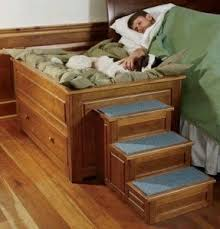 doggie steps for bed dog stairs for high bed foter