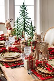 set a pretty christmas scene with our winter u0027s wonder dinnerware