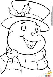 olaf snowman coloring big pictures melting snowman pictures