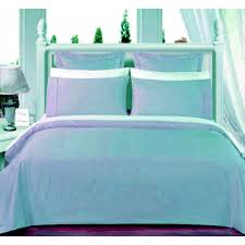 550tc light blue olympic queen bed in a bag with comforter 8 pc