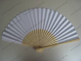 paper fans for weddings white paper fans fans for sale free postage australia no