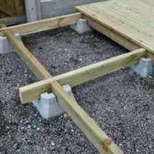 concrete deck blocks concrete deck block con google decking