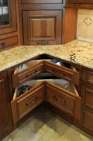 corner kitchen cabinet storage ideas appliances stunning granite countertop with manuvactured