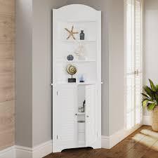 small white corner cabinet for kitchen corner cabinet small bathroom shelves storage organizer