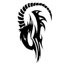 designs with image zodiac symbol picture tribal aries tattoo