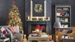 Christmas Decoration Home Fireplace Christmas Decorations Ideal Home