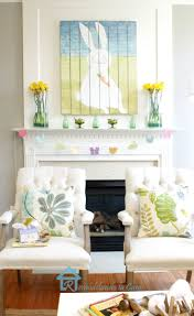 easter mantel decorations 140 best easter images on decoration