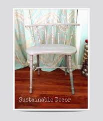 Upcycling Furniture - sustainable decor dipped leg chair upcycling furniture with