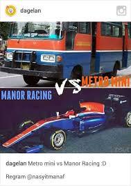 Meme Mobil - meme mobil balap rio haryanto dan metro mini khsblog d