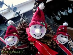 simply snowman votive ornaments kristen