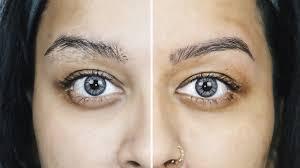 how i wax u0026 shape my eyebrows at home sleek wax quick u0026 easy