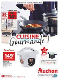 cuisine gourmande catalogue auchan du 21 au 27 février 2018 cuisine gourmande