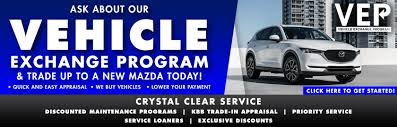mazda business crystal automall exchange program