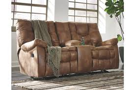 darshmore power glider reclining loveseat with console ashley