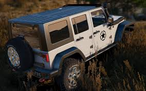 modded white jeep 2014 jeep wrangler rubicon add on replace gta5 mods com