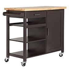 kitchen storage islands homegear utility kitchen storage cart island with