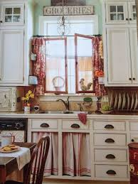 Country Kitchen Curtain Ideas Creative Of Country Kitchen Curtains And Blue French Country