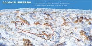 Tre Map Dolomiti Superski Skimap Org