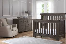 Crib And Changing Table Serta Langley Convertible Crib And Dresser Rustic Grey Kids N Cribs