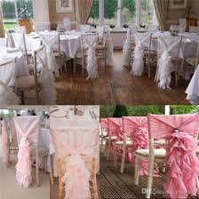 chair ribbons pink wedding chair ribbons suppliers best pink wedding chair