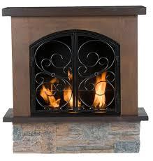 portable gas fireplace binhminh decoration