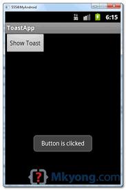 toast android android toast exle