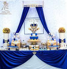 Wonderful Royal Baby Shower Decoration Princess A Royal Blue And