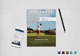 19 golf flyer templates free psd ai eps format download
