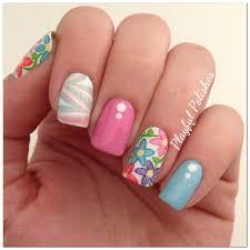 playful polishes spring nail art using sinful colors sugar rush