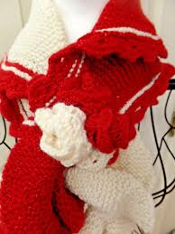 red and white scarf e10190947031520930m 28 95