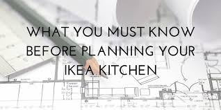 Dimensions Of Kitchen Cabinets by 12 Things To Know Before Planning Your Ikea Kitchen Jillian Lare