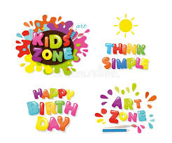 art zone design cute design for kids art zone happy birthday think simple