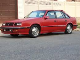 1988 dodge cer the carroll shelby cars you forgot exist the cargurus