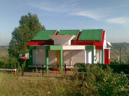 exterior of bunglow home